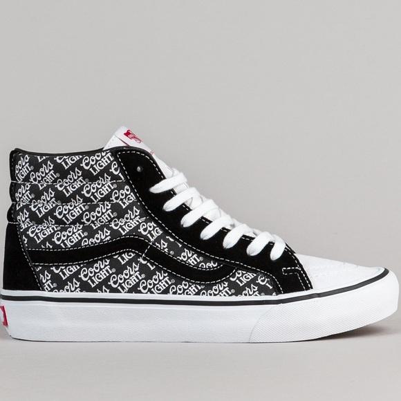 ce881f6ac7db67 Rare 💀 Vans x Coors Light Sneakers